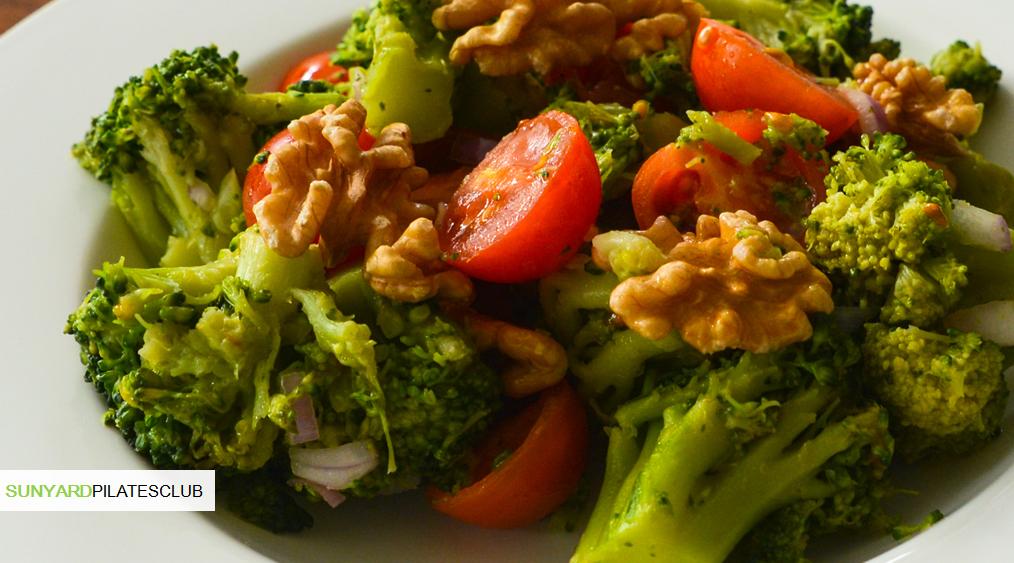 skinny broccoli dinner salad. Black Bedroom Furniture Sets. Home Design Ideas