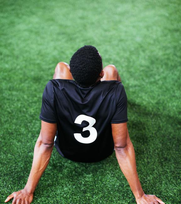 Indoor football.